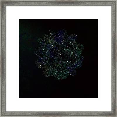 String Vibrations Framed Print