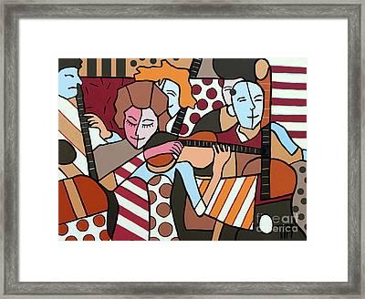 Stringed Things Framed Print by Tim Ross