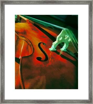 Strings Framed Print by Naman Imagery