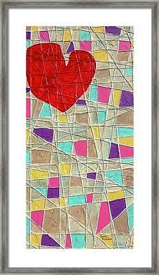Strings To My Heart  Framed Print