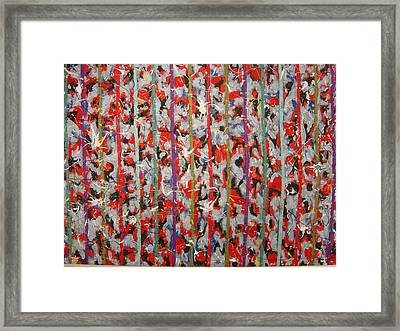 Striped Framed Print by Biagio Civale