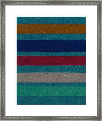 Stripes 6 Framed Print by James Gallagher