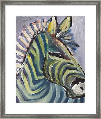 Stripes Framed Print by Chelle Fazal