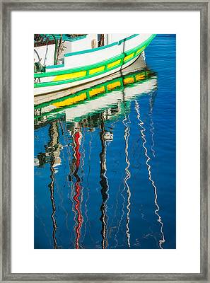 Stripes  Framed Print by Joan Herwig