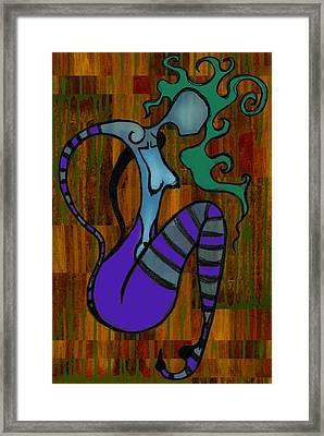 Stripes Framed Print by Kelly Jade King