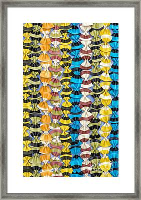 Stripes N Lines Framed Print