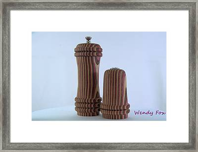 Stripes Framed Print by Wendy Fox