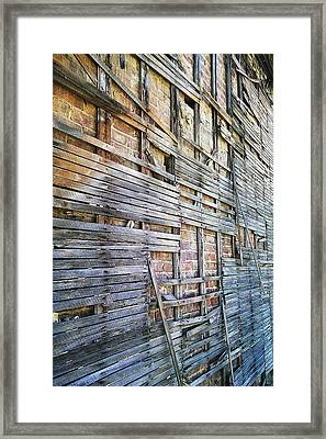 Strips Framed Print