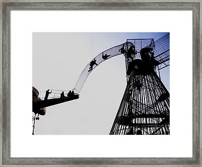 Framed Print featuring the photograph Striving by David Coblitz