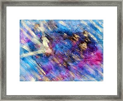 Strobe Light Framed Print