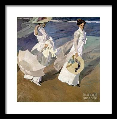 Summer Dresses Framed Prints