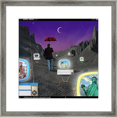 Framed Print featuring the photograph Strolling Down Memory Lane by Mike McGlothlen