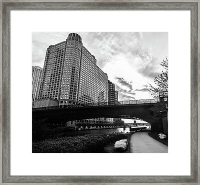 Strolling In The Chi Framed Print