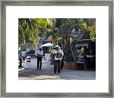 Strolling Musicians Framed Print by Jim Walls PhotoArtist