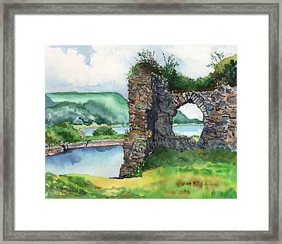 Strome Castle Scotland Framed Print by Timithy L Gordon