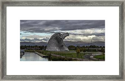 Strong. Framed Print by Angela Aird