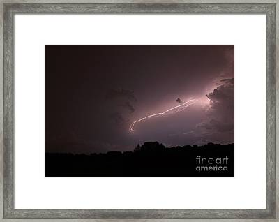 Strong Arm Framed Print by Amanda Barcon
