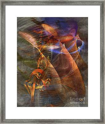 Strong Desire Framed Print