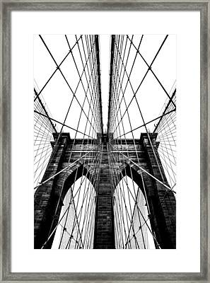 Strong Perspective Framed Print