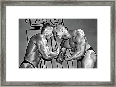 Strong Power Framed Print by Evgeniy Lankin
