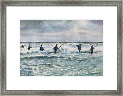 Strong Six Framed Print by Karol Wyckoff