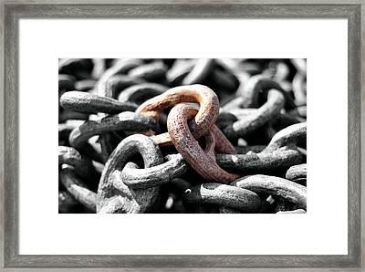 Stronger Together Framed Print