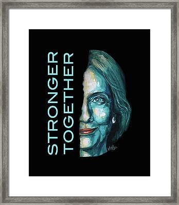 Stronger Together Framed Print