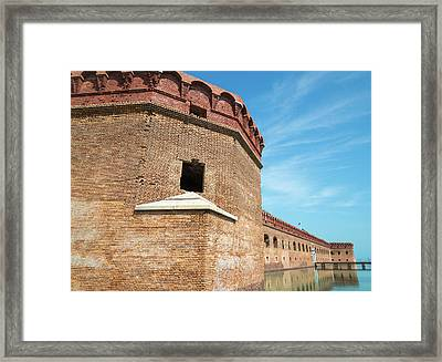 Stronghold Framed Print by Kristopher Schoenleber
