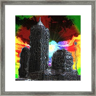 Structural Dissonance Framed Print