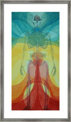 Structure And Energy Framed Print