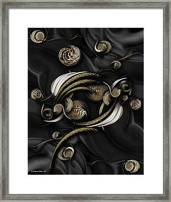 Structure In Spirit Framed Print
