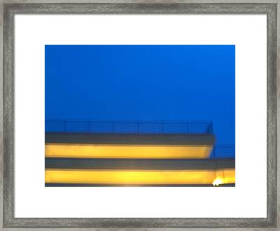 Structure Framed Print by Jacob Stempky