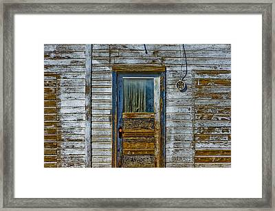 Structure.2387 Framed Print by Gary LaComa