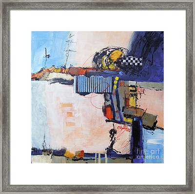 Structured Framed Print by Ron Stephens