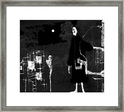 Structured Framed Print by Rc Rcd