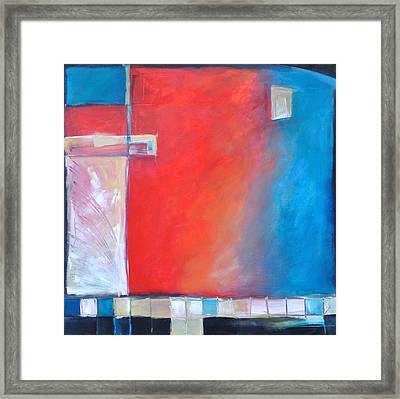 Structures And Solitude Revisited Framed Print