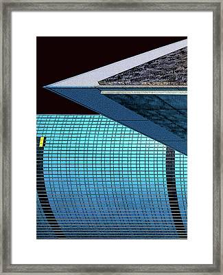 Structures West 3 Framed Print by Bruce Iorio