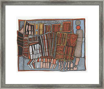 Strung Together Framed Print