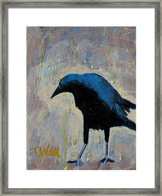 Framed Print featuring the painting Struttin' by Pattie Wall