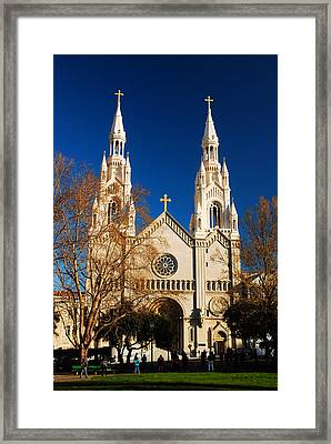 Sts Peter And Paul Framed Print by James Kirkikis