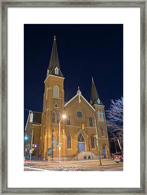 Sts. Stephen And James Evangelical Lutheran Church Framed Print by Sean Jones