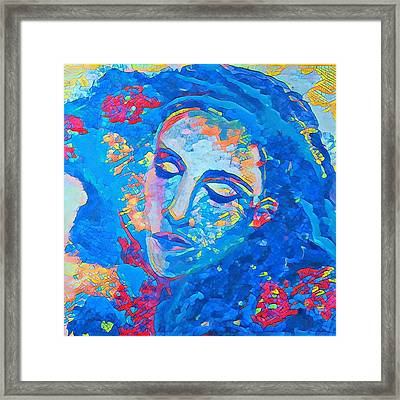 Stuck In A Moment Framed Print