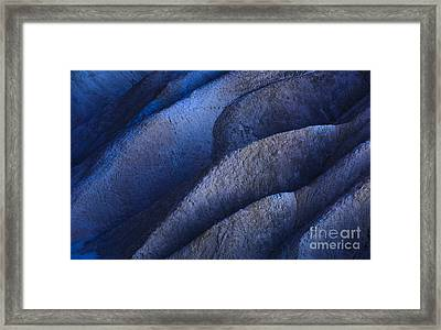 Stuck In A Rut Framed Print by Charles Dobbs