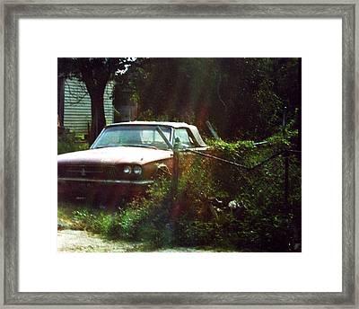 Stuck In Desire Framed Print by Jennifer Ott
