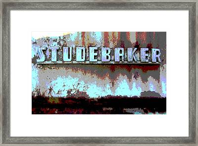 Studebaker  Framed Print by Audrey Venute