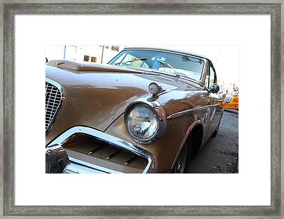 Studebaker Golden Hawk . 7d14181 Framed Print by Wingsdomain Art and Photography