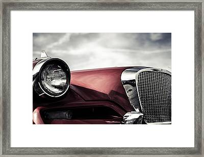 Studebaker Grille  Framed Print by Off The Beaten Path Photography - Andrew Alexander