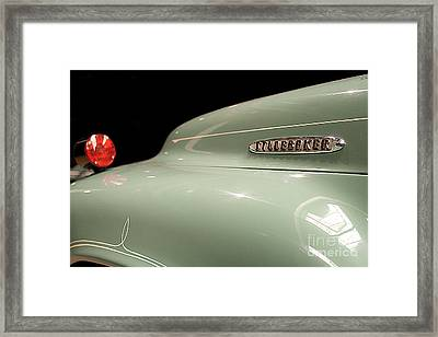 Framed Print featuring the photograph Studebaker by Patricia Hofmeester