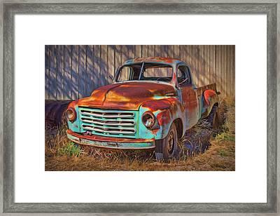 Studebaker - Pickup Truck Framed Print