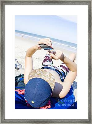 Student Connection Framed Print by Jorgo Photography - Wall Art Gallery